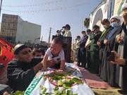 مراسم تشییع و الوداع با شهید مقداد بویر در  شهر دهدشت/ تصاویر