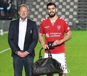 افتخار جدید عزتاللهی در فوتبال دانمارک