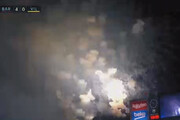 ببینید | جواد خیابانی و بیاطلاعی از دلیل آتشبازیهای اطراف نیوکمپ