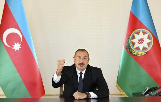 شرط رئیس جمهور آذربایجان برای پایان درگیریها