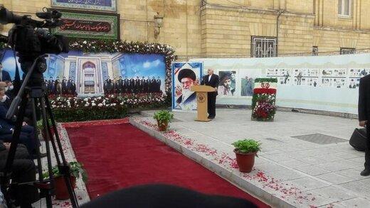 ظریف از خانوادههای شهدای وزارت امورخارجه تقدیر کرد
