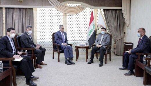 مشاور امنیت ملی عراق با سفرای آمریکا و انگلیس دیدار کرد