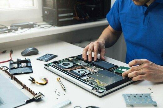 ببینید | تعمیرکاری که لپ تاپ از دست رفته را به لپ تاپی نو تبدیل کرد