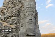 تصاویر | ساخت المانهای باغ موزه سنگ شیراز