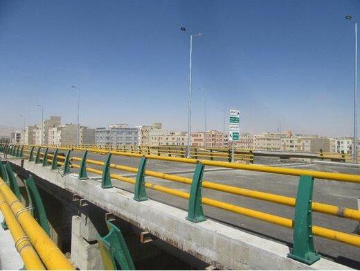 تقاطع غیر همسطح شهید صیدی اراک آماده بهرهبرداری شد