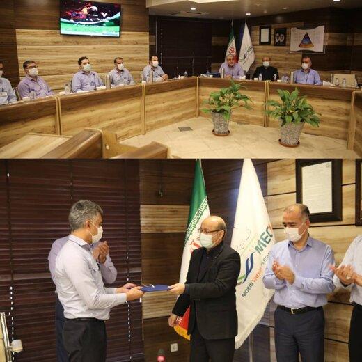 مراسم تقدیر از آتش نشانان و کارکنان ایمنی در مبین انرژی خلیج فارس