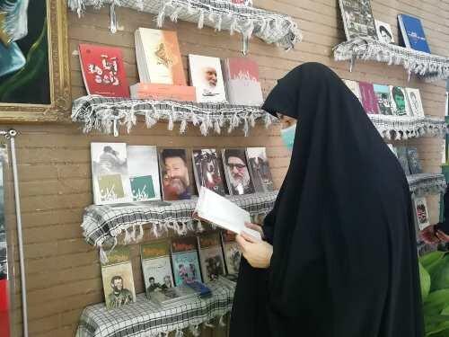 کتابسرای تخصصی دفاع مقدس در قزوین افتتاح شد
