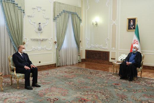 کنایه معنادار روحانی به مدیر مسئول روزنامه کیهان