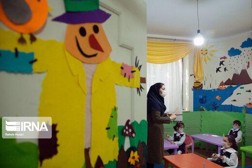 فعالیت مهدهای کودک در دوران کرونا