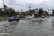 ترافیک سنگین در آزادراه قزوین-کرج/ این جاده بارانی است