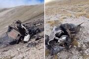 ارمنستان ادعای خود را درباره ترکیه مستند کرد؛تصویری از سقوط سوخو25/عکس