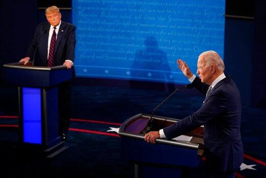 حاشیههای اولین مناظره:از لبخندهای بایدن تا اخم ترامپ و قطع کردن صحبتهای رقیب