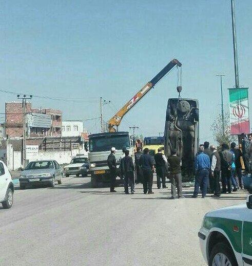 جاده مغان همچنان قربانی میگیرد/ واژگونی پژو در ۴۵ کیلومتری پارس آباد یک کشته برجای گذاشت
