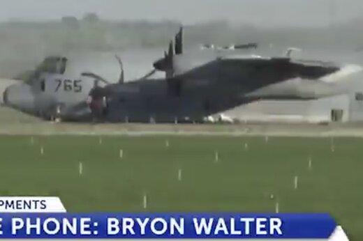 ببینید | جزییات سقوط دو هواپیمای نظامی ارتش آمریکا