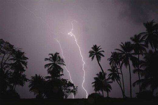 استانهای جنوبی منتظر بارش رگباری و رعدوبرق باشند