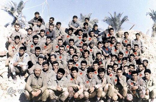 همراه با فرماندهان نظامی کمتر شناخته شده +عکس