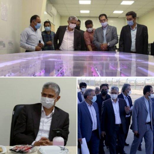 بازدید مدیر عامل شهر فرودگاهی امام خمینی (ره) از هسته پیشران منطقه آزاد تجاری شهر فرودگاهی