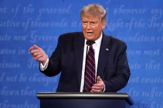 ترامپ: خیلی راحت بایدن را شکست دادم!