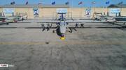 این پهپاد مجهز به بمب سپاه، کوچکترین تحرک آمریکا در خلیج فارس را رصد می کند+عکس