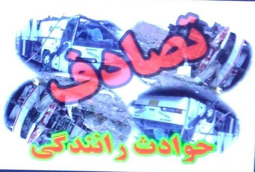 ۲ کشته و ۲ مجروح در برخورد پژو ۴۰۵ با کامیون تریلی در یاسوج