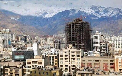 قیمت مسکن در مناطق مختلف تهران/جدول