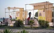 سمپوزیوم مجسمهسازی جزیره با خلق آثار هنری «هفتسنگ» در کیش