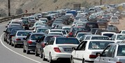 ترافیک سنگین در «هراز»/ انسداد مقطعی در جاده چالوس