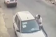 ببینید   سرقت ناکام سارقین از خودروی پراید!