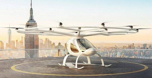 ببینید   با تاکسی هوایی الکتریکی «وُلوکوپتر» آشنا شوید