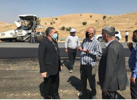 بازدید سرزده استاندار کهگیلویه و بویراحمد بر تکمیل و راه اندازی محور ارتباطی دهدشت چرام/ پیشرفت ۷۰ درصدی جاده چهارخطه دهدشت چرام