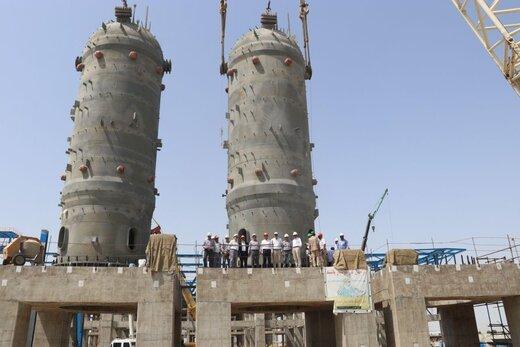 دومین راکتور پتروشیمی بدر شرق در منطقه آزاد چابهار نصب شد
