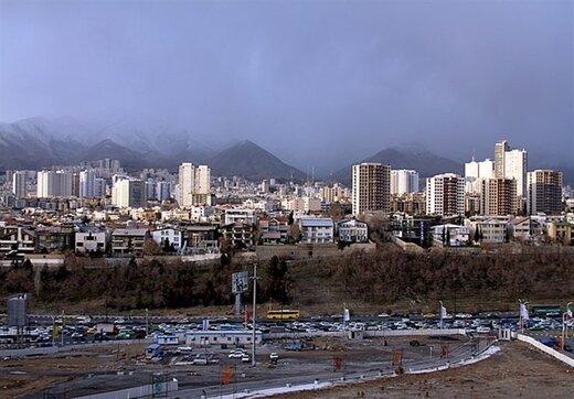 پایداری هوای تهران در وضعیت «قابل قبول»