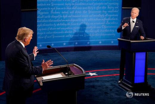 بایدن: نباید به ترامپ میگفتم دلقک/مناظره،مسابقه فریادزنی بود