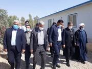 بازدید استاندار کهگیلویه و بویراحمد از طرح آبرسانی به چهار شهر