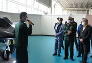 بازدید موشکی و پدافندی اعضای شورای نگهبان