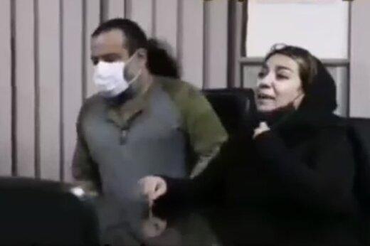 ببینید | مواجهه دختر مهراب قاسمخانی با سارق قمهکشی که تلفن همراهش را دزدیده بود