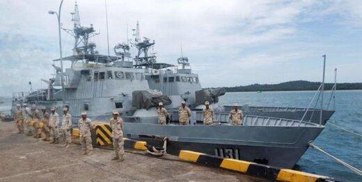 کامبوج تأسیسات دریایی ساخت آمریکا را تخریب کرد