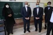 بهرهبرداری از دبستان ۱۲ کلاسه شهدای فاطمیون شهر کرمان توسط وزیر آموزش و پرورش