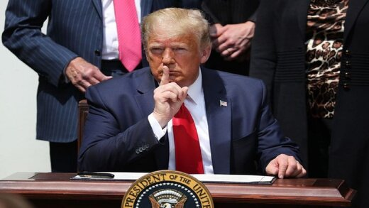 وال استریت ژورنال: ترامپ درباره ابتلا به کرونا مخفی کاری کرده