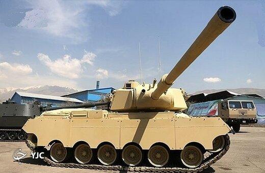 این فناوری نظامی ارتش، تنه به تنه تانک ام ۴۷ آمریکایی می زند /مشخصات فنی تانک سبلان +عکس