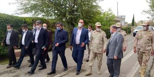بازدید نمایندگان کمیسیون امنیت ملی مجلس از مرز ایران و آذربایجان