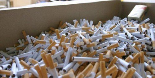 قاچاقچی سیگار در قزوین۴۰۰میلیون ریال جریمه شد