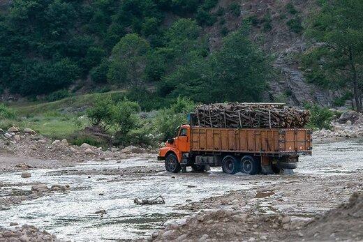 بیش از ۳ هزارتن چوب و زغال در چهارمحال و بختیاری کشف شد