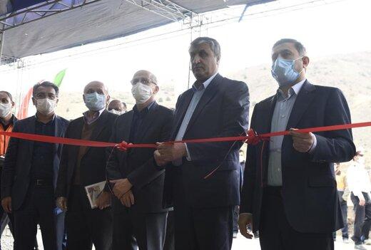 راه جوستان _ گراب افتتاح شد