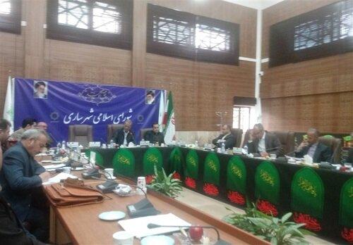 عشوری رئیس شورای شهر ساری شد