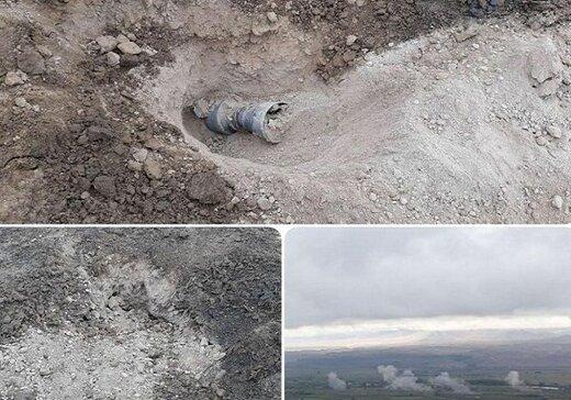 خمپارههای جنگ قره باغ بازهم به خاک ایران اصابت کرد /هشدار به ساکنان مناطق مرزی