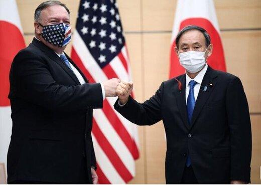 عهد جدید پمپئو با نخست وزیر جدید ژاپن