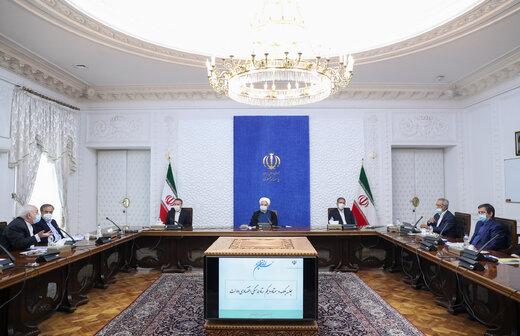 روحاني : لاينبغي لبعض الدول مشاركة امريكا في اعمالها اللاإنسانية