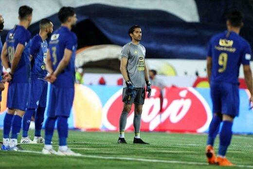 حضور سیدحسین حسینی در باشگاه استقلال