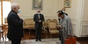 خداحافظی سفیر ژاپن با ظریف/عکس